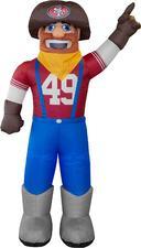 San Francisco 49ers Inflatable Mascot-7FT